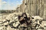 歷史老照片:1935年的滿洲里