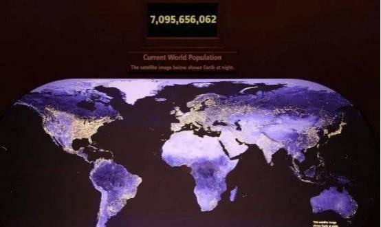 地球上多少人口._地球上有多少海