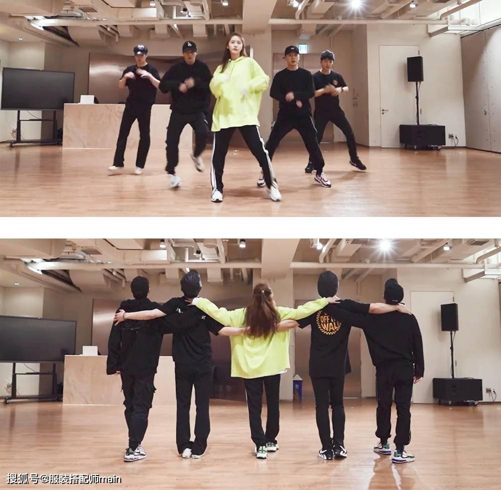 林允儿跳男团舞庆生,卫衣搭运动裤动作流通,不愧是少女时代C位