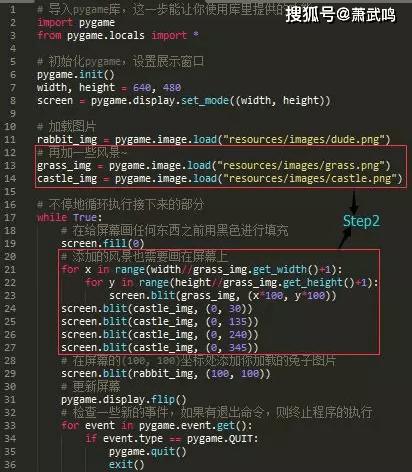Python小游戏项目,兔子猎手教程,效果以及源码文件 第4张