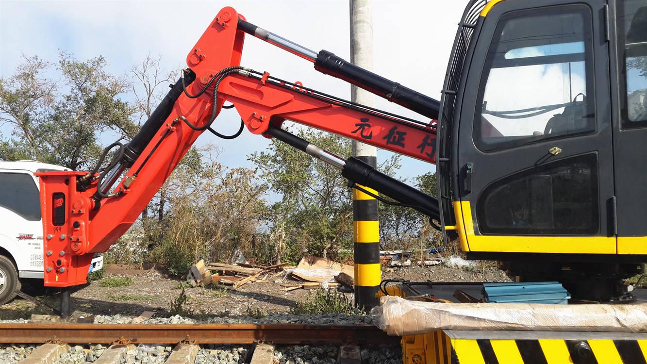 固定式液压碎石机械臂的国内现状图片