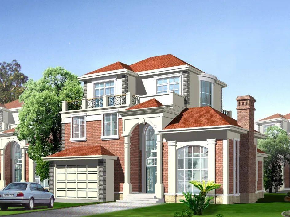 多套农村别墅设计图 新农村自建房别墅设计