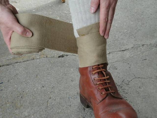 绑腿曾经是广大官兵的标配,为何会突然退出军事舞台?