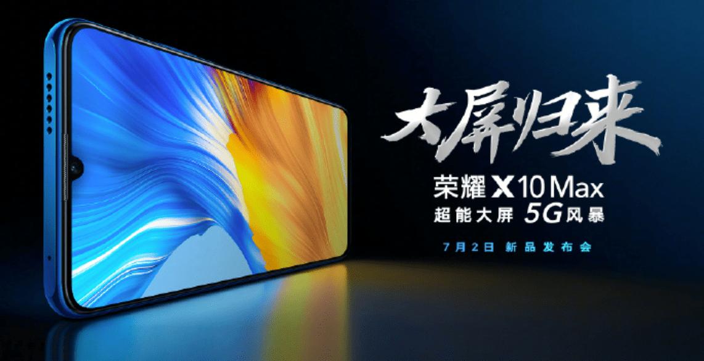 荣耀X10 Max将搭载7.09英寸RGBW护眼阳光屏,下周见!