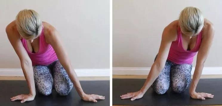 瑜伽前热身要全面,十个拉伸手腕的动作,看完避免伤害_手掌 知识百科 第11张