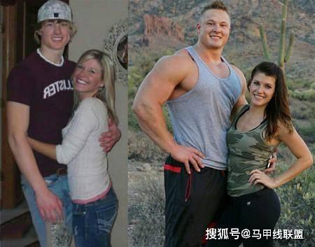 情侣一起健身8年,瘦小的身材变强壮了,魅力也大大提升! 动作教学 第4张