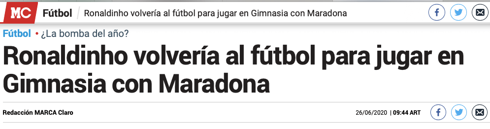 足坛地震!退役两年 世界足球先生即将复出 两大超巨终于要联手了 国际新闻 第1张