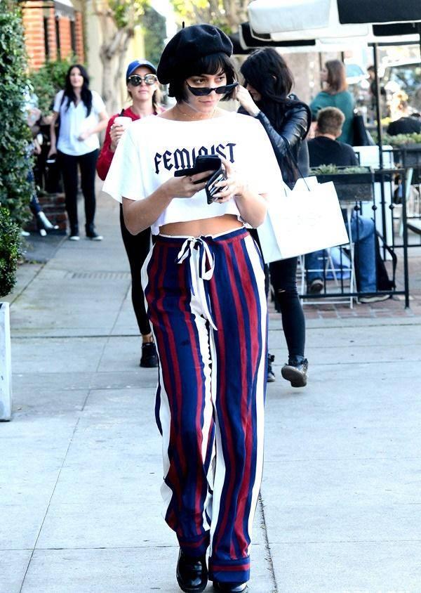 好莱坞明星都爱的时尚单品,太阳镜和贝雷帽,搭配让人眼前一亮