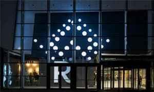 艺术购物中心亮化灯光照明设计