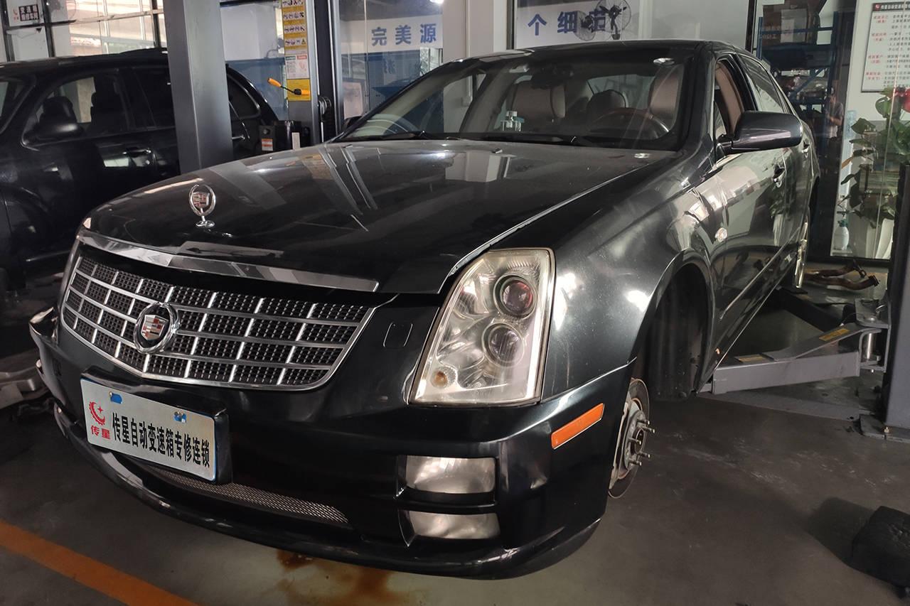 凯迪拉克SLS不离车,变速箱打滑,凯迪拉克自动变速箱维修