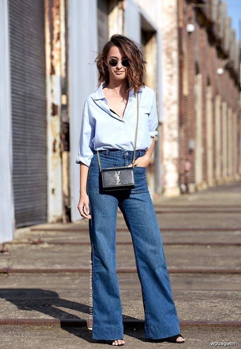 原创衬衫塞衣角显高又显瘦,可热巴又解锁西装塞衣角新穿法,更时髦!