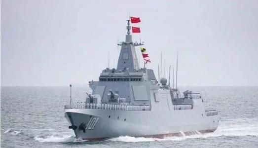 055型万吨大驱:西方定性为巡洋舰,全球最强驱逐
