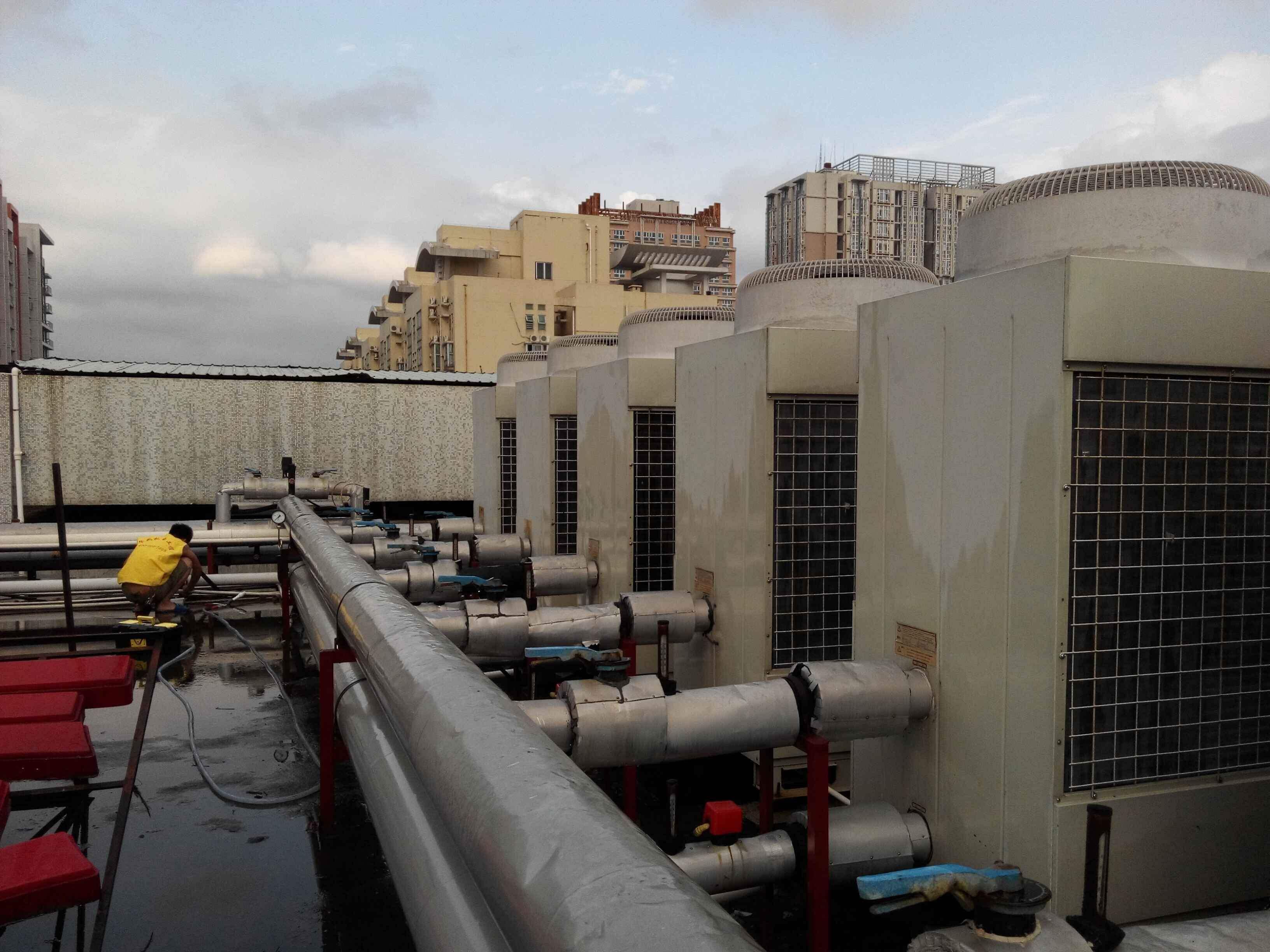 洗浴中心安装中央空调的可行性方案