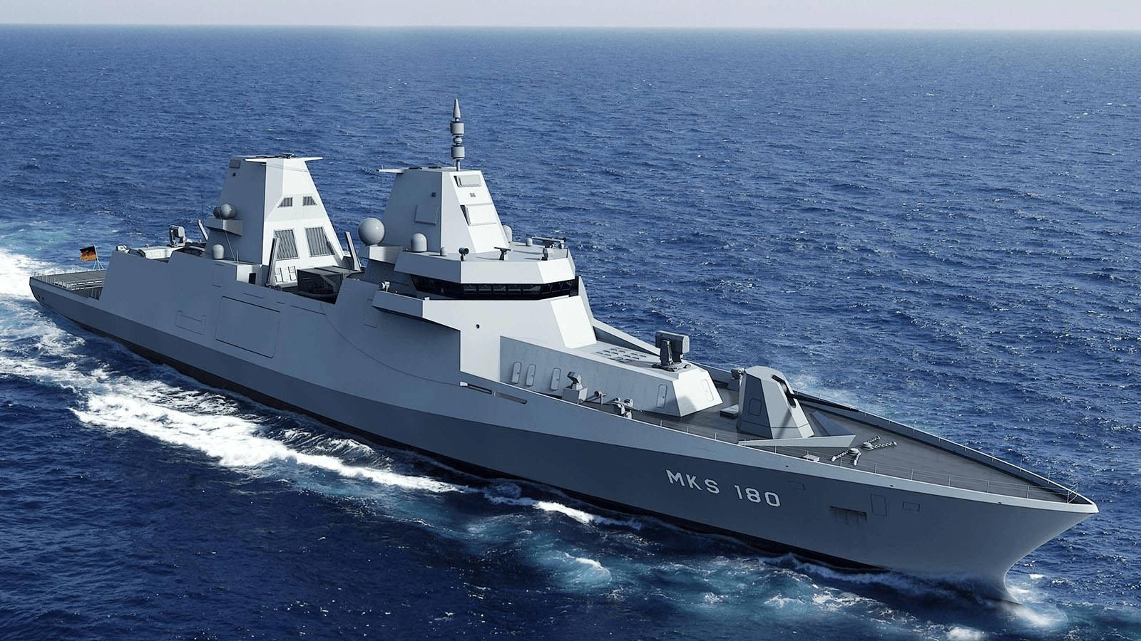 德国新舰太奇葩,造价顶5艘052D,战斗力还不如054A_德国新闻_德国中文网