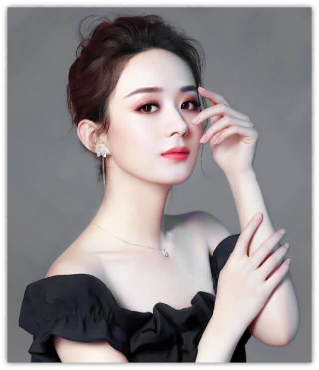 拥有娃娃脸的女星,避开杨蓉,忍了赵丽颖,看到她沦陷了!