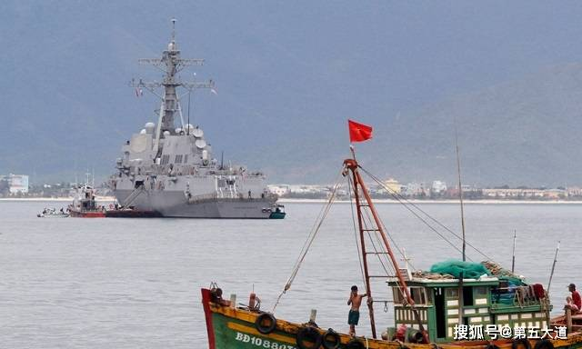 再次爆发海上冲突,越南护卫舰遭火控制导锁定,周旋半小时脱身