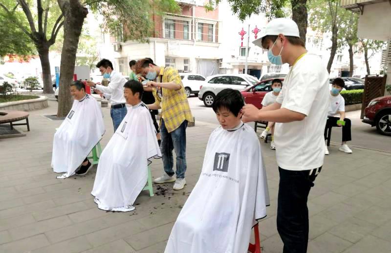 天津和平朝阳里社区举办温馨志愿情交流会活动