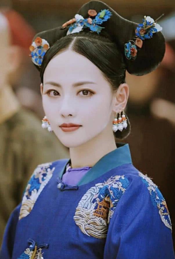 张嘉倪最美的古装造型,不是容妃,不是孙尚香,而是她