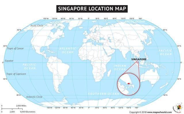 世界地图放大后