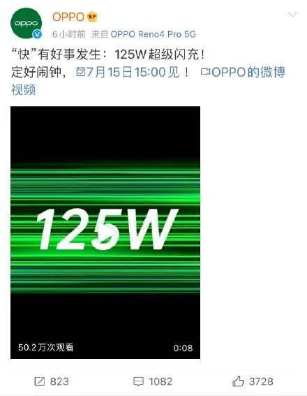原创             OPPO把快充做到125W,苹果却不配充电器了