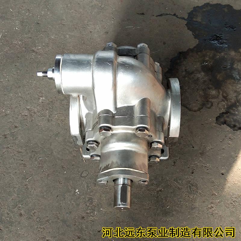 不锈钢齿轮泵在食品行业的应用