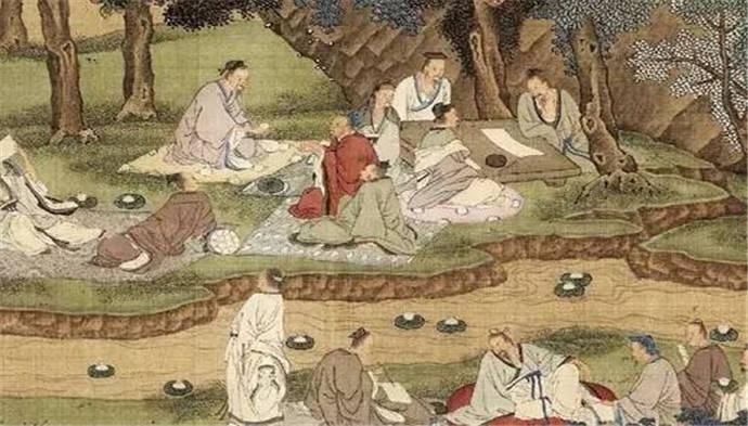 """王羲之写《兰亭集序》的""""曲水流觞""""是怎么一回事儿?"""