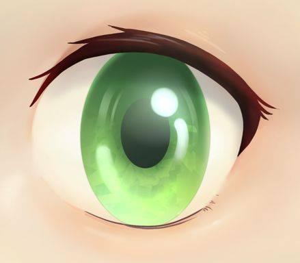 动漫人物眼睛画法-怎么画动漫人物眼睛画法