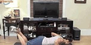 一个被忽略的健身动作——跪式俯卧撑,帮你减掉拜拜肉,提高气质
