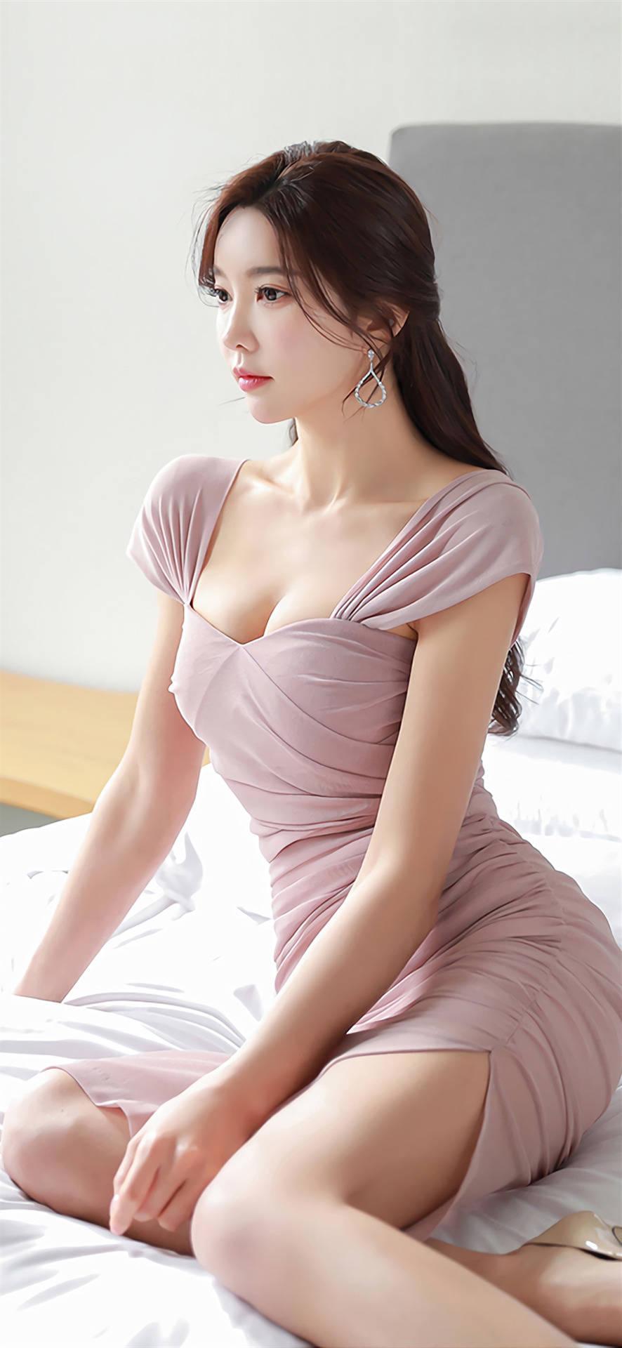 韩国美女孙允珠 时尚就是简单的装扮,简约的风格
