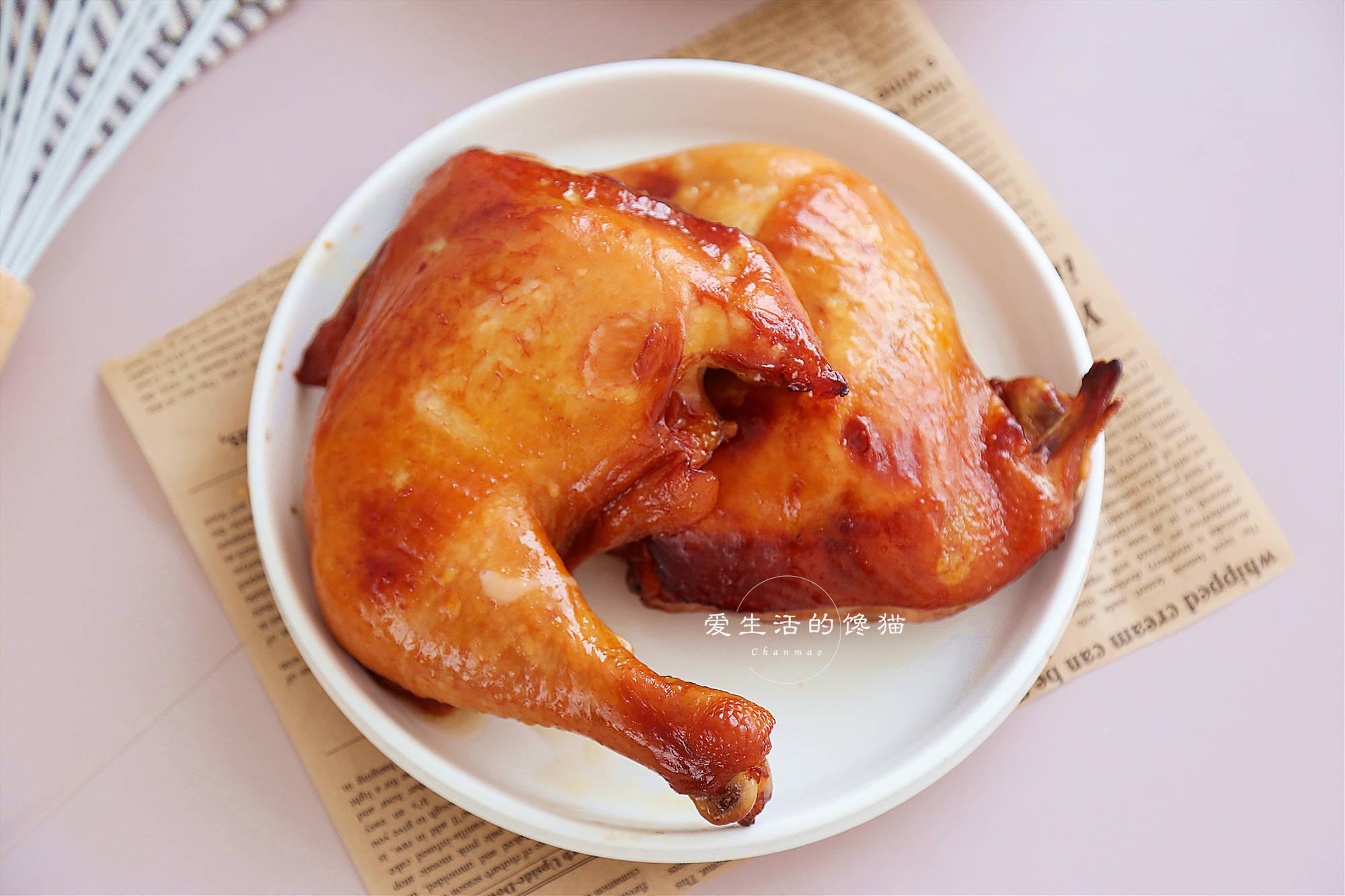 不用油的烧鸡腿,腌一腌扔进电饭锅,20分钟喷香出锅,网友狂点赞