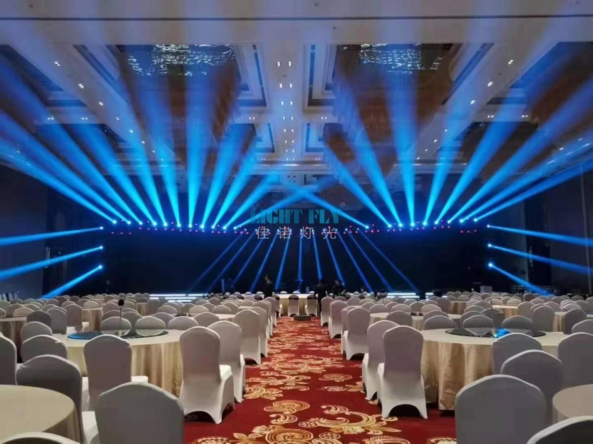 印度尼西JW万豪旅店宴会厅灯光秀