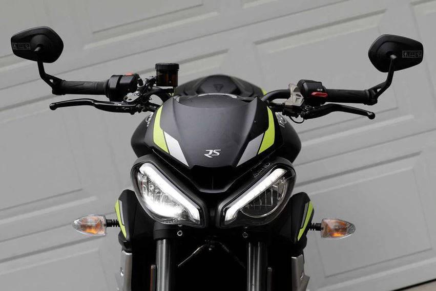 MOTO2赛车技术加身 凯旋Street Triple RS