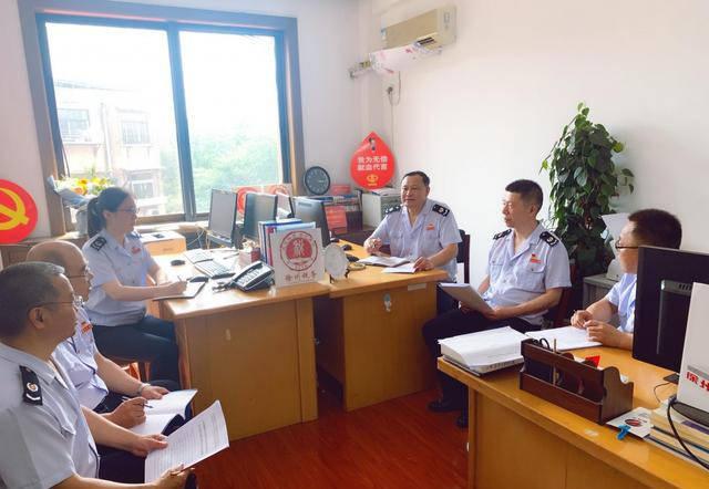 唱歌税务好声音:徐州首家税务室成立闫