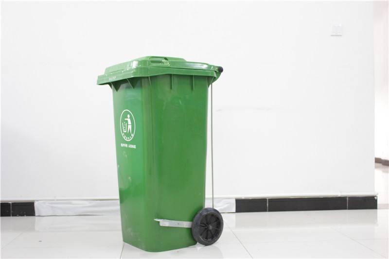 户外环卫垃圾桶为什么要选脚踏垃圾桶(图1)