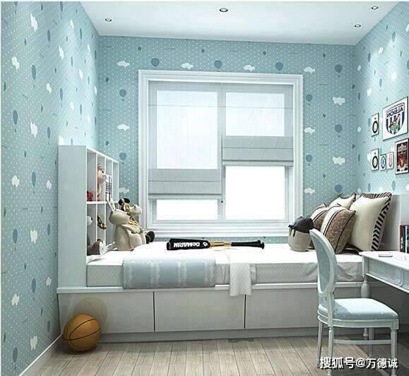 壁纸分为许多类如覆膜壁纸、涂布壁纸