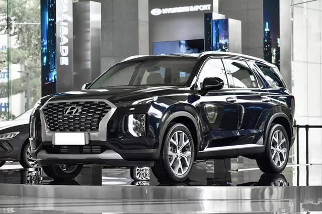 原韩系也想抢占大中型7座SUV。现代巴黎即将在中国上市