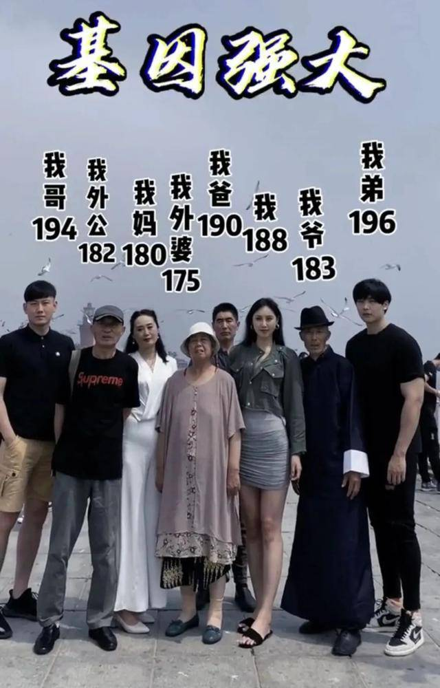 爸妈1米6,孩子1米9,夫妻俩谁的基因决定了孩子的身高和智商?