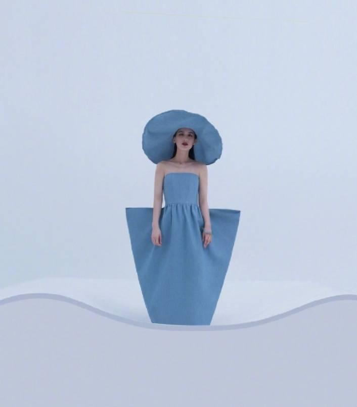 黄圣依又拍时尚大片,打造高级优雅名媛风,造型太精彩