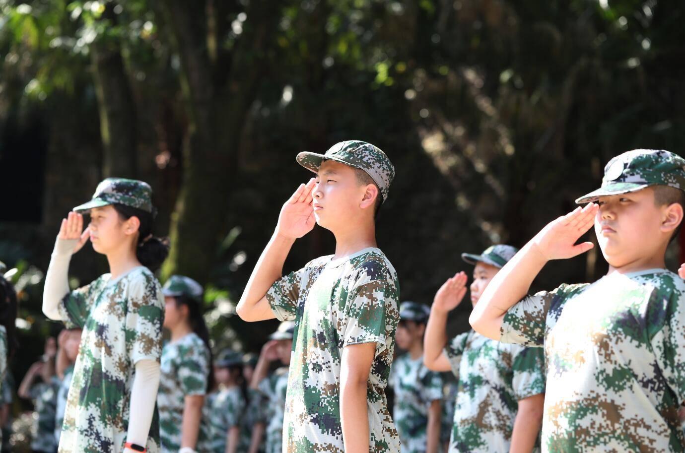 第九届重庆市青少年军事夏令营开营