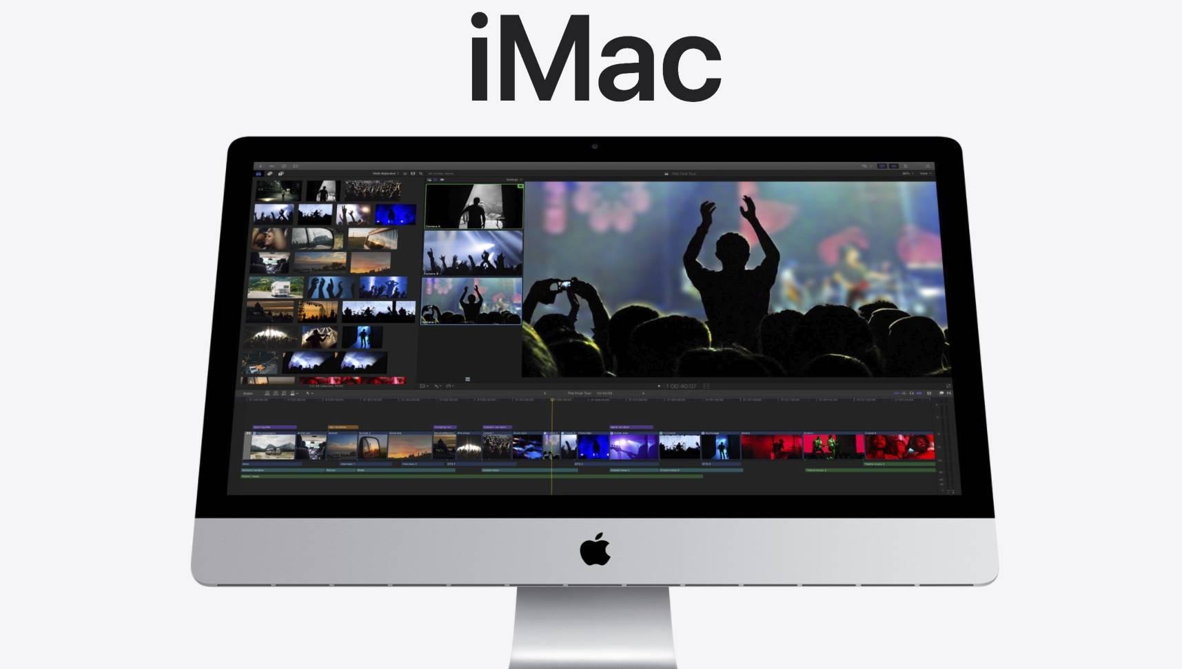 原创             苹果新款 iMac 发布!10 代酷睿、T2、1080p 摄像头