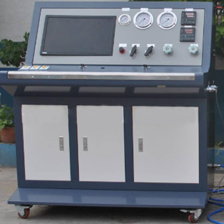 气瓶水压残余变形率检测试验设备