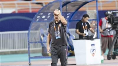 本赛季中超联赛姑苏赛区第4轮,天津泰达队0:3