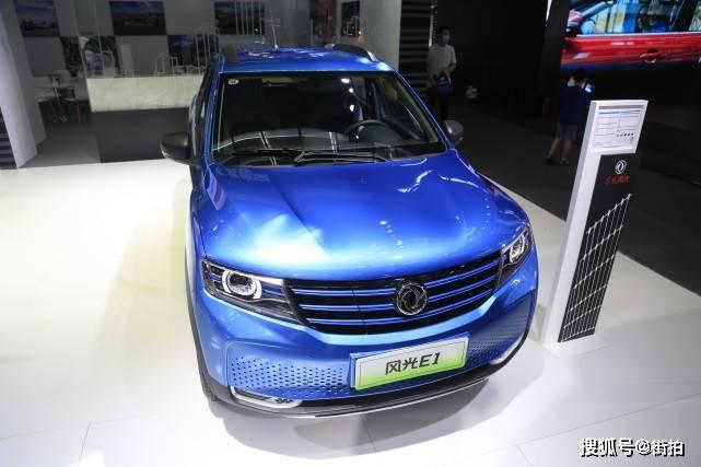 原创东风风光E1,7万级都市迷你纯电动SUV,车展实拍!