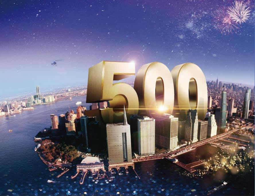 看差距!中美、日俄、印度、英法德等国的世界500强企业数量对比