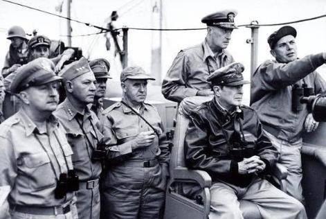 朝鲜战争期间麦克阿瑟的仁川登陆获得