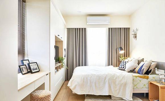 全屋打满柜子,简洁的现代风格装修设计,广州夫妇的家令人羡慕!