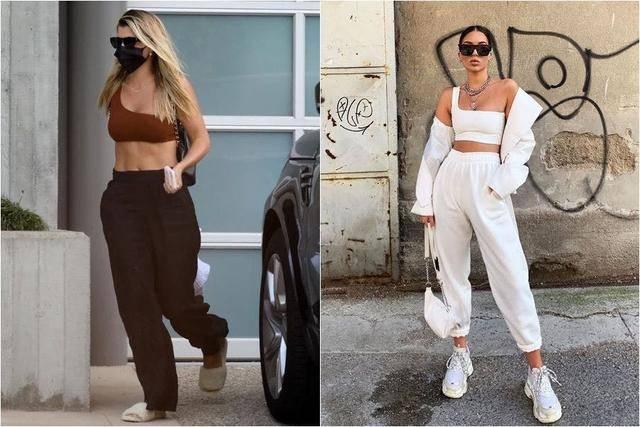 今年流行比基尼混搭时装,直接穿上街,泳衣寿命从夏天延长到秋天