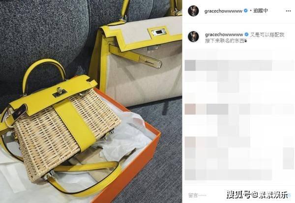 周扬青即将生日,妈妈送34万豪华包包,与罗志祥1年前约定落空