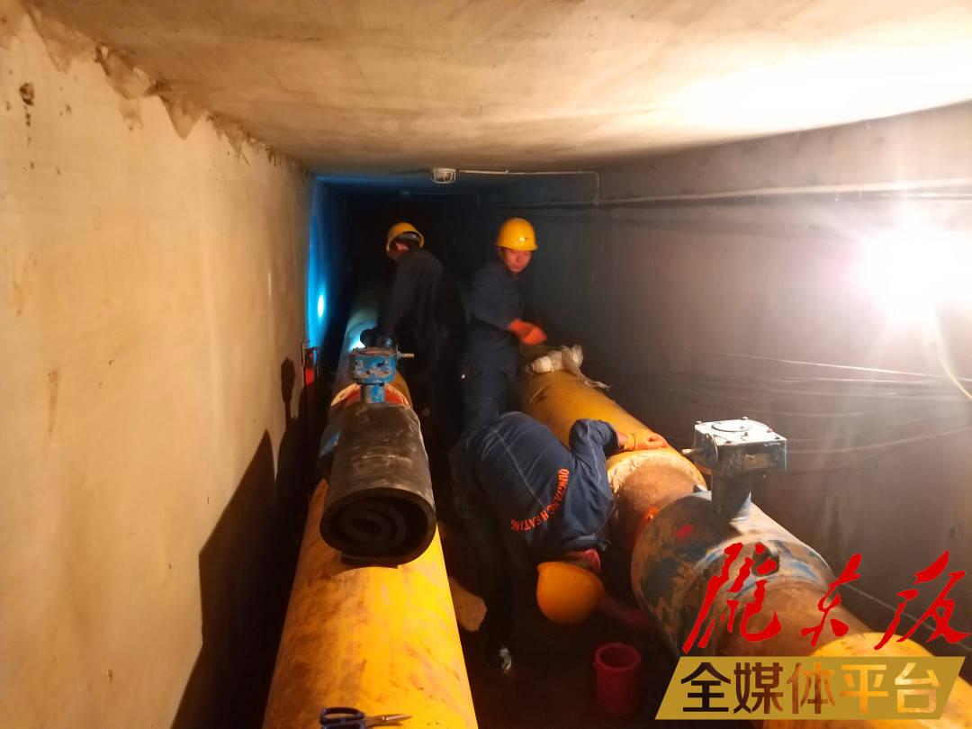 冬天的温暖是有保证的!西峰城市热力集团将在8月底前完成供热设备检查。 西峰城区供热总公司