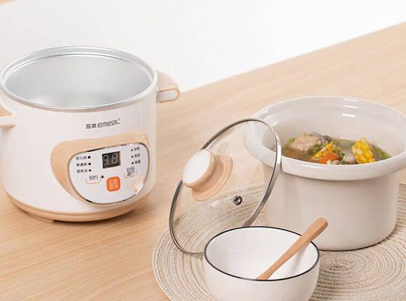 煲汤熬粥、做婴儿辅食,一机多用电炖锅,合理膳食好帮手!